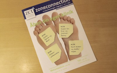 Interview i zoneterapeuternes månedsblad – Zoneconnection