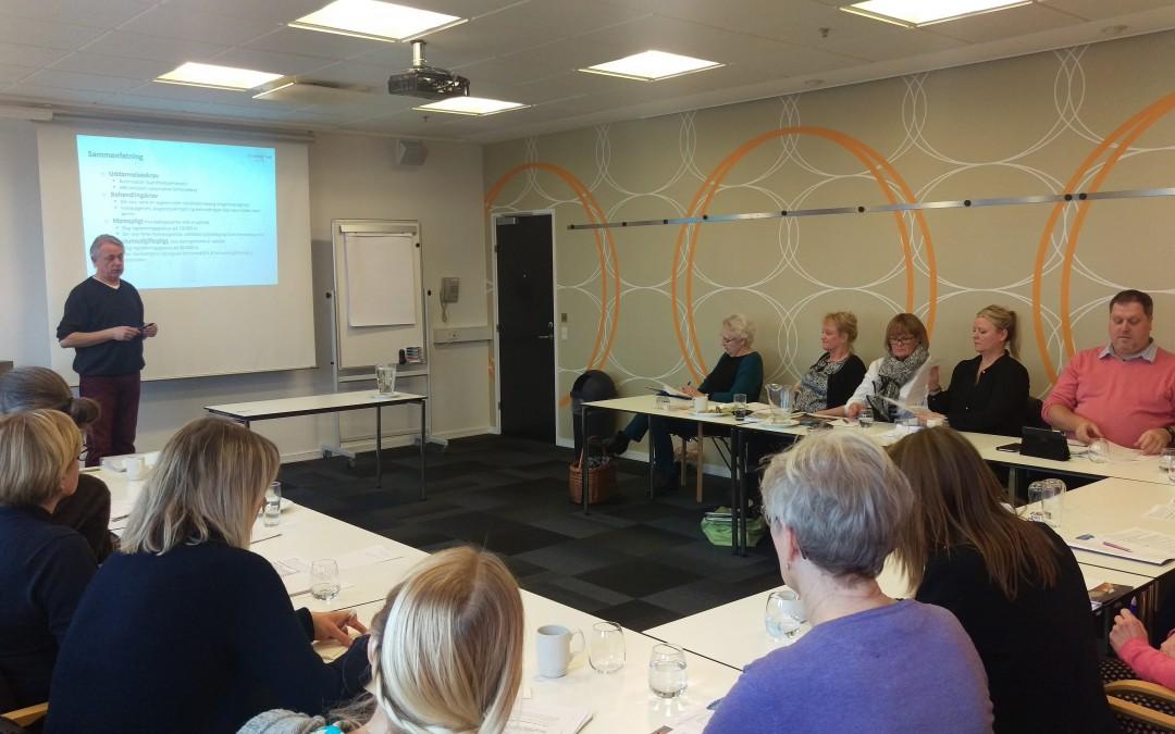 Foredrag på zoneterapeuternes generalforsamling